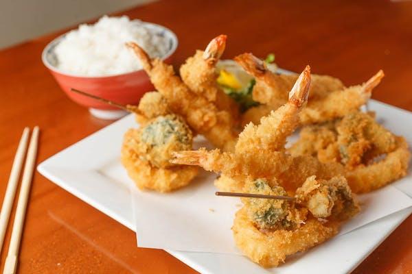 Shrimp Tempura Entrée