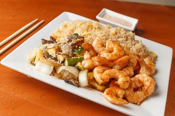 Teppan Shrimp Hibachi