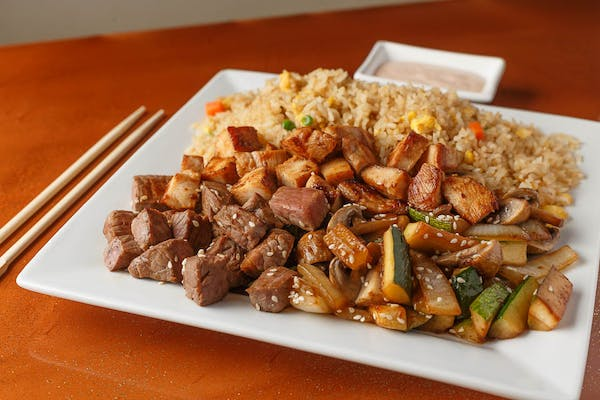 Steak & Chicken Hibachi