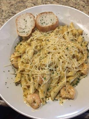 Rigolets Shrimp Pasta