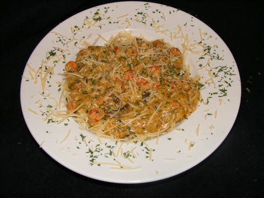 Jill's Crawfish Fettuccini