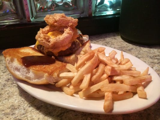 Buster's Who Dat Burger
