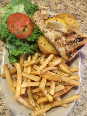 Buster's Grilled Mahi-Mahi Sandwich