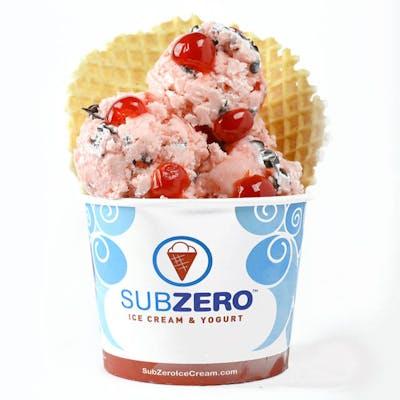 Cherry Charge Ice Cream