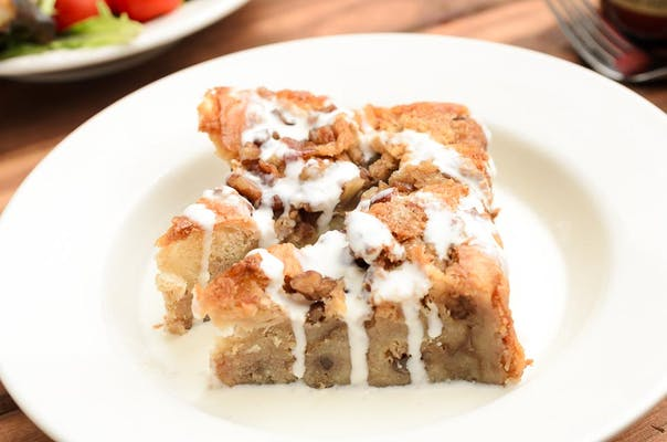 Bread Pudding w/ Whisky Sauce