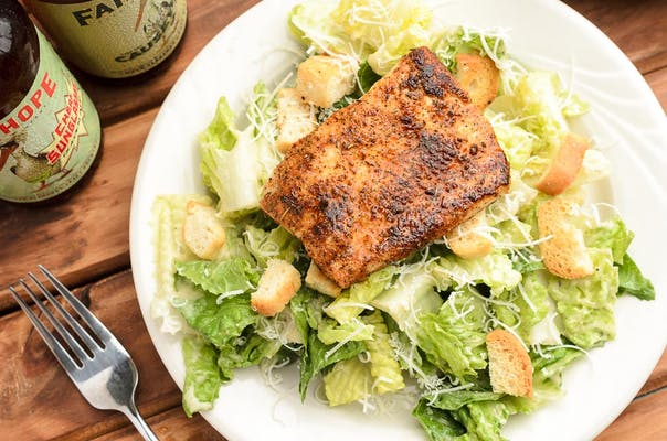 Mahi Caesar Salad