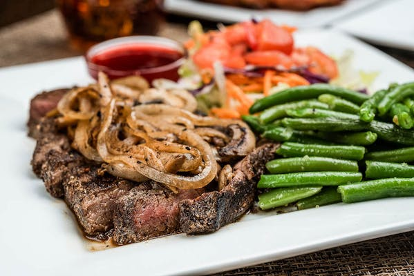 9. Burgundy Marinated Sirloin