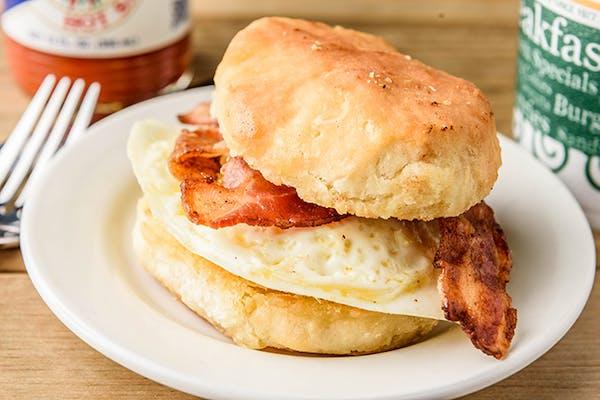 Meat & Egg Sandwich