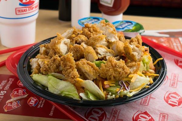 Crispy Chick'n Salad Combo Meal