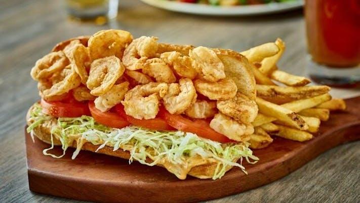 Po-Boy, Shrimp