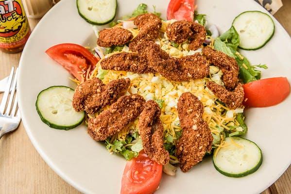 Duck Strip Salad