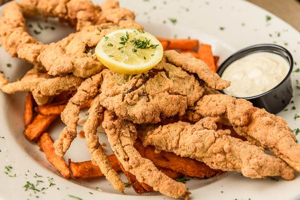 Soft-Shell Crab Platter