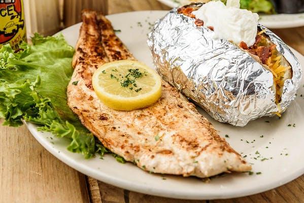Redfish Fillet Dinner
