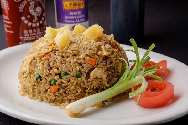3. Pineapple Fried Rice