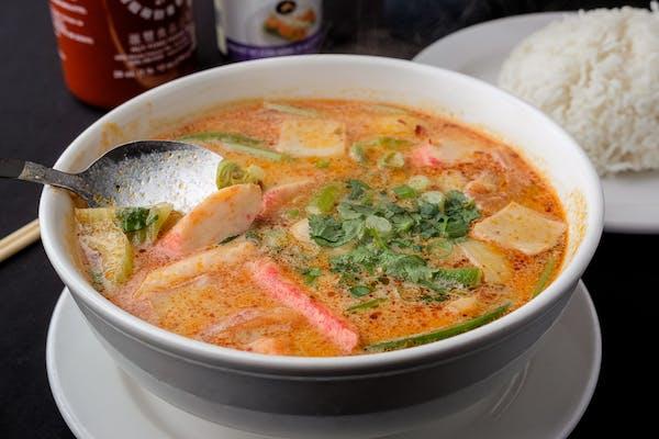 24. Tom Yum Seafood Soup