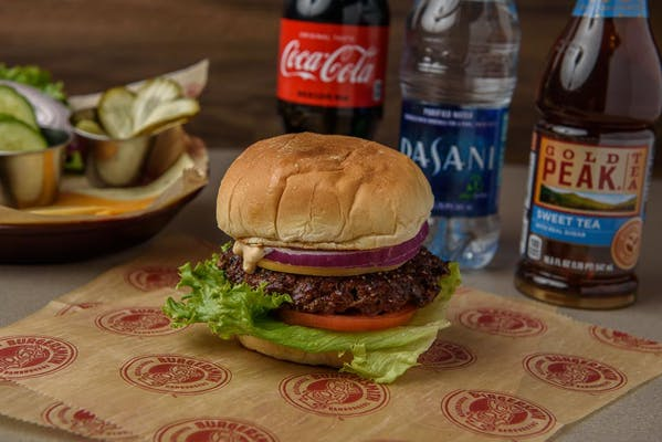 Bison Burger Coca-Cola Combo