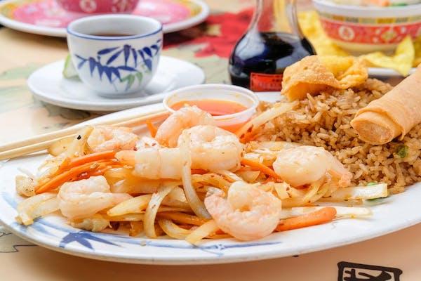 L15. Mongolian Shrimp *Spicy
