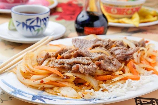 Mongolian Beef *Spicy