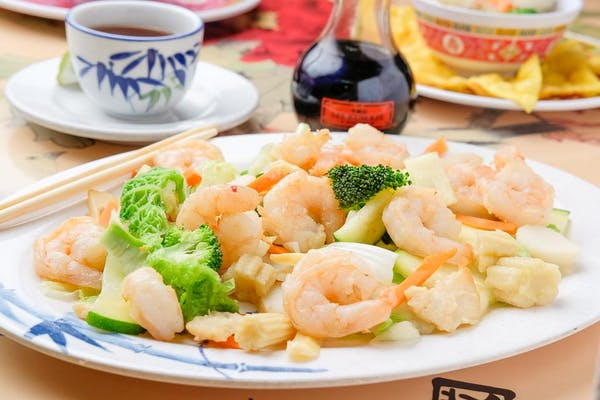 Shrimp & Vegetables