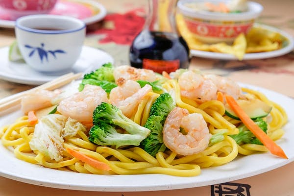 Shrimp Lo-Mein