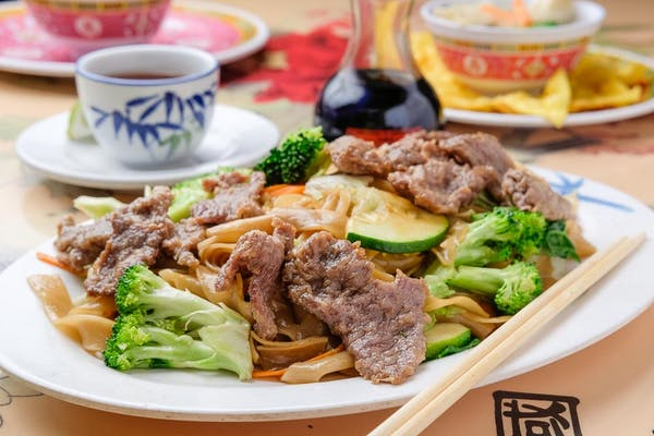 Hong Kong Beef Chow Fan Noodles