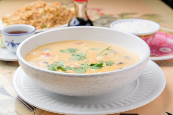 Tom Kar (Thai Coconut Soup)