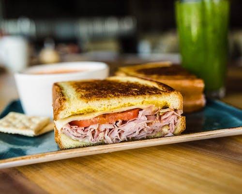 Ham & Gruyere Melt Sandwich