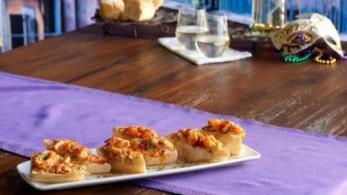 New Orleans Crawfish Bread
