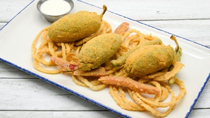 Shrimp & Crab Stuffed Jalapenos
