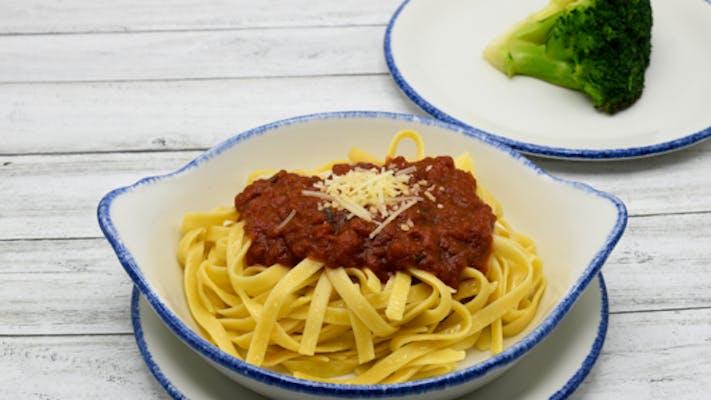 Pasta with Alfredo