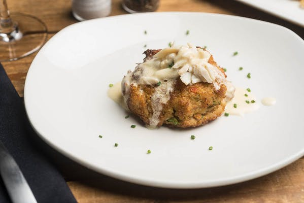 Lunch Blue Crab Cake