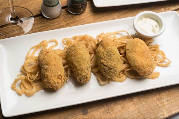 Lunch Seafood-Stuffed Jalapeños