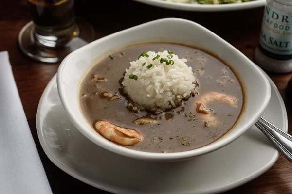Lunch Landry's Seafood Gumbo