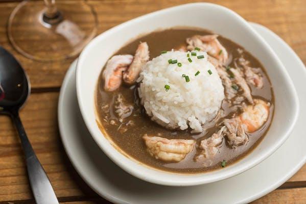 Lunch Landry's Shrimp & Crab Gumbo