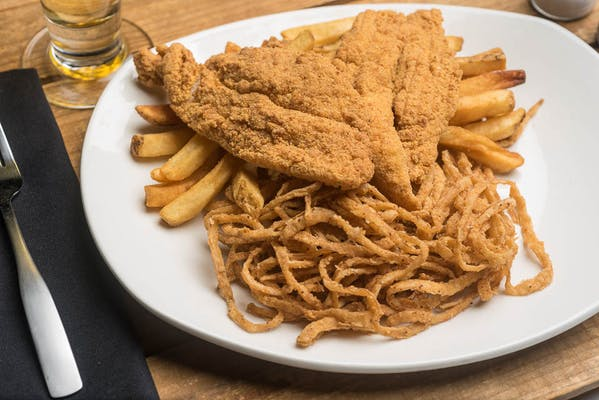 Lunch Southern Fried Fish
