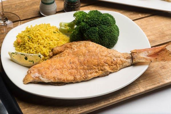 Lunch Redfish