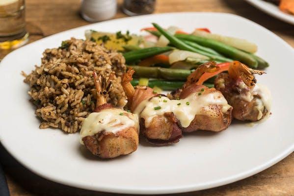 Lunch Shrimp en Brochette Entrée