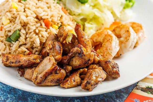 Chicken & Shrimp Hibachi