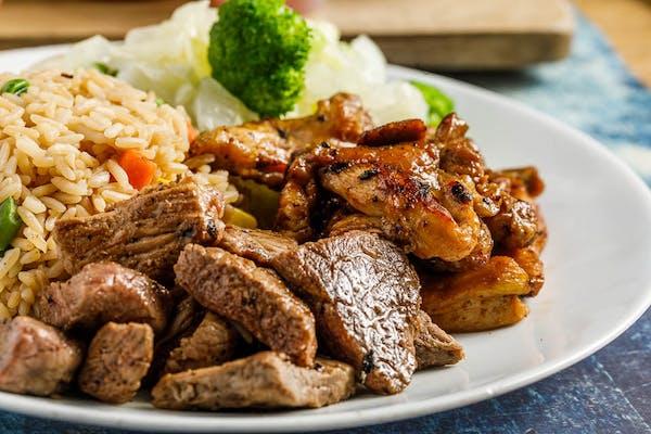 Chicken & Beef Hibachi