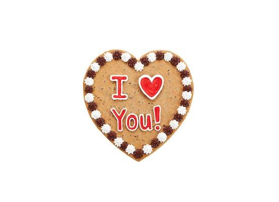 "(16"") Heart-Shaped Cookie Cake"