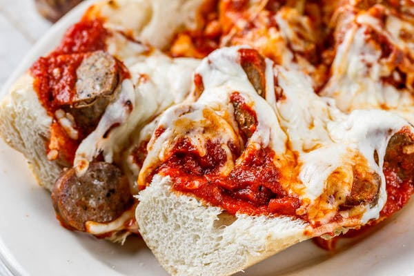 Sausage Parmigiana Sandwich