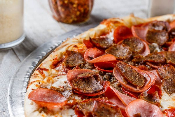 Sausage & Pepper with Feta Cheese Pizza