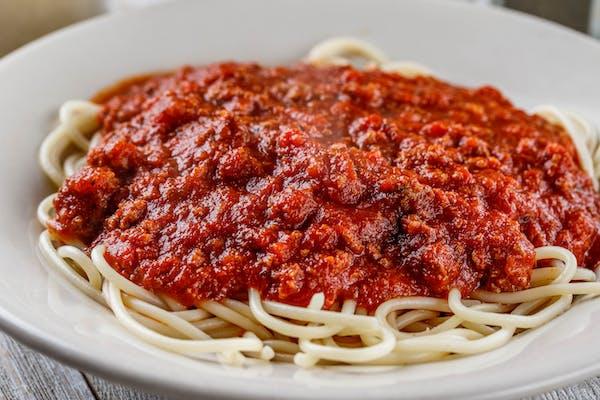 Kid's Spaghetti & Meat Sauce