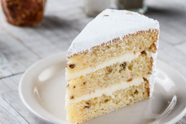Three-Layer Italian Cream Cake