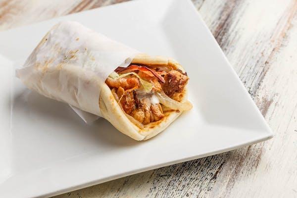 Chicken Bacon Ranch Pita Wrap