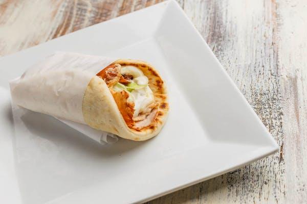 Smoked Turkey Pita Wrap