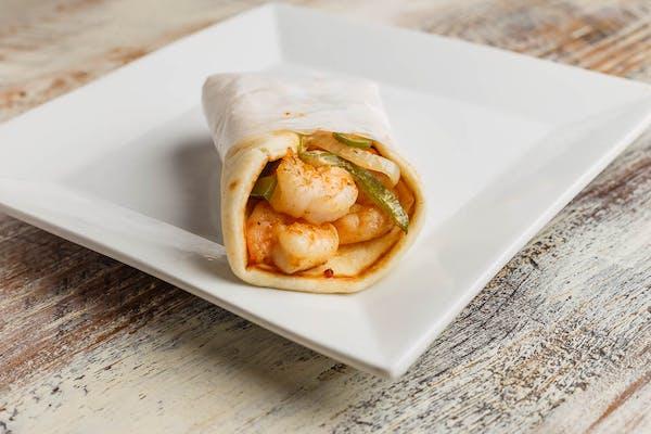 Shrimp Pita Wrap