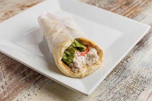Chicken Salad Melt Pita Wrap