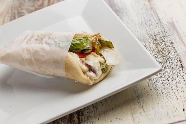 Veggie Pita Wrap