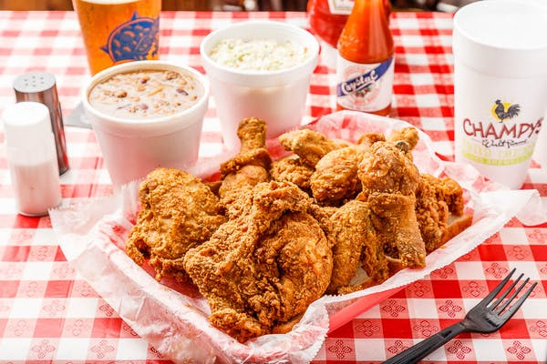 (12 pc.) Fried Chicken & (3) Large Sides